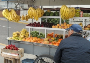 If only we could get fresh and delicious fruit from vendors back home....